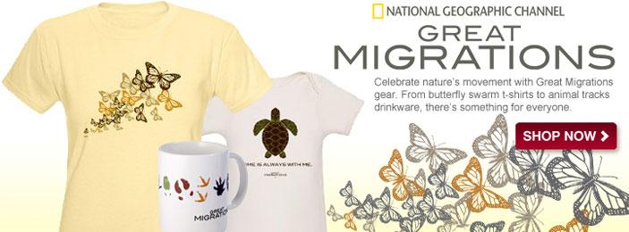 Great Migrations T-Shirts & Merchandise